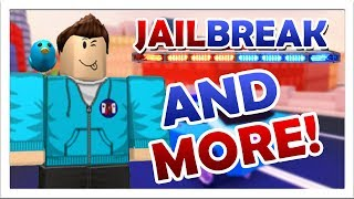 JAILBREAK AND MORE ROBLOX GAMES!! 🔴 Come enjoy this Roblox livestream! 🔴 GamerBoyJJM!!