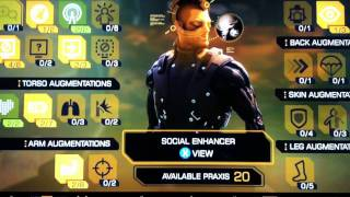 My 100,000XP glitching on Deus Ex: Human Revolution = 20 Praxis