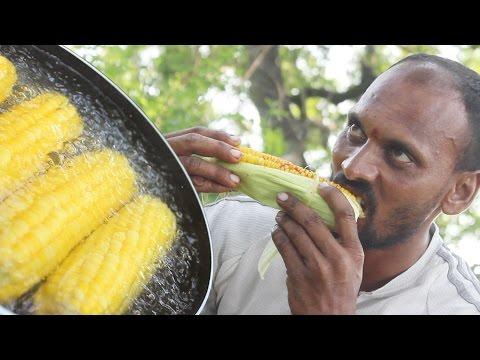 How To Cook Spicy Sweet Corn Recipe || Indian Street Food || Masala Sweet Corn Recipe