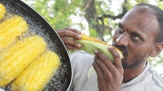 How To Cook Spicy Sweet Corn Recipe  Indian Street Food  Masala Sweet Corn Recipe