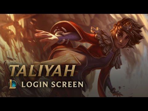 Taliyah, the Stoneweaver | Login Screen - League of Legends
