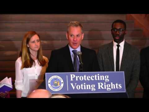 A.G. Schneiderman Releases Report On Voter Complaints During April Presidential Primary