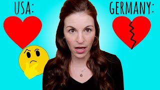Germans & Americans DON'T AGREE on Relationship Status??