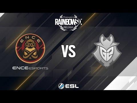Rainbow Six Pro League - Season 9 - EU - ENCE eSports vs. G2 Esports - Week 2