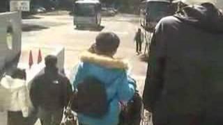 台湾人観光客向けにアピール運動1