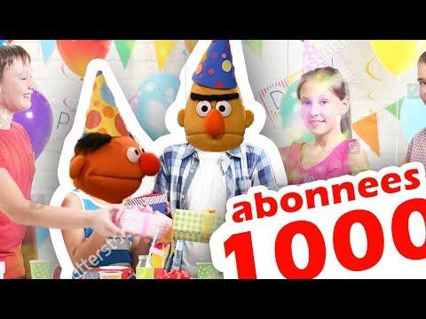 1000 ABONNEES! ( en RUZIE met RAPPER SJORS) - BERT