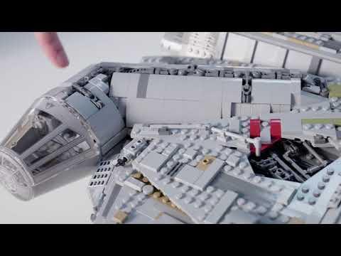 UCS Millennium Falcon - LEGO Star Wars - 75192 - Designer Video