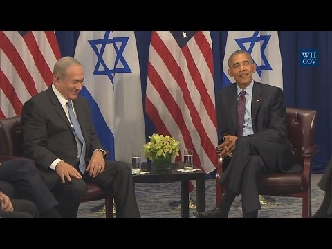 President Obama and Prime Minister Netanyahu
