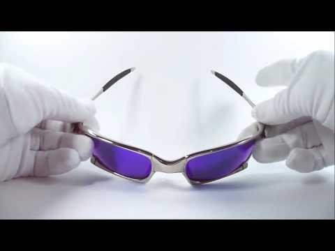 133b237b6 Lentes De Sol Oakley Juliet Squared X Metal Polarized Av0113 - YouTube