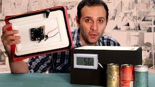 Como fazer uma geladeira caseira que chega a 5,6°C (geladeira Peltier)