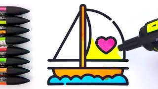 Love Coloring Pages - Drawings and Coloring Book for Kids