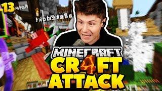 REWIS HOCHZEIT GESPRENGT! | Minecraft Craft Attack 4 #13 | Dner