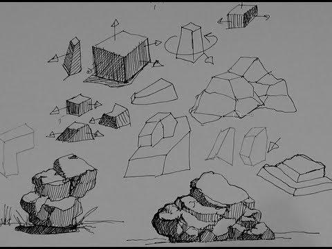 pen & ink drawing tutorials
