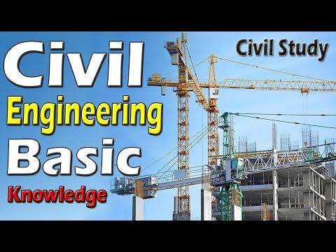 Civil Engineering Basic Knowledge - For Beginners In Urdu/Hindi
