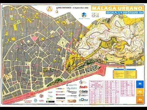 COMA Malaga City Race Orienteering 2016, Malaga Urban 4 September 2016