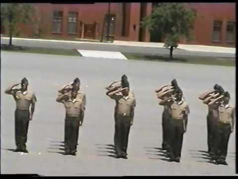 Marine Corps Recruit Depot Graduation Parris Island SC  April 19, 2002