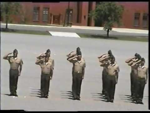 Marine Corps Recruit Depot Graduation Parris Island SC  April 19, 2002