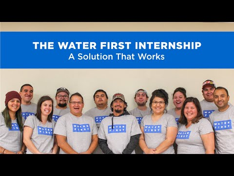 The Water First Internship:  A Solution That Works