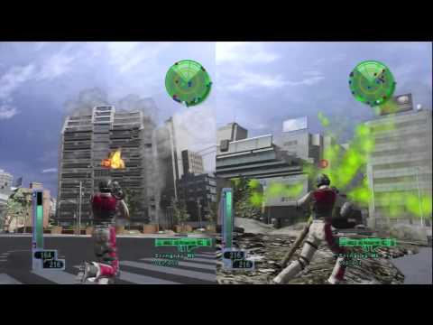Earth Defense Force 2017 - The Co-op Mode
