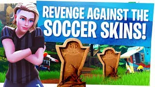 REVENGE against the Soccer Skin Tryhards! - Playing Pubs like it's a Pro Match in Fortnite
