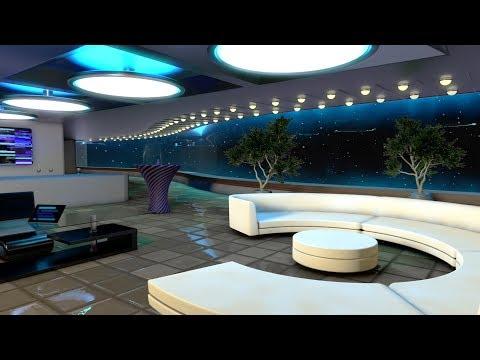 Starship White Noise   Sleep, Study, Focus   Spaceship Lounge Sound 10 Hours