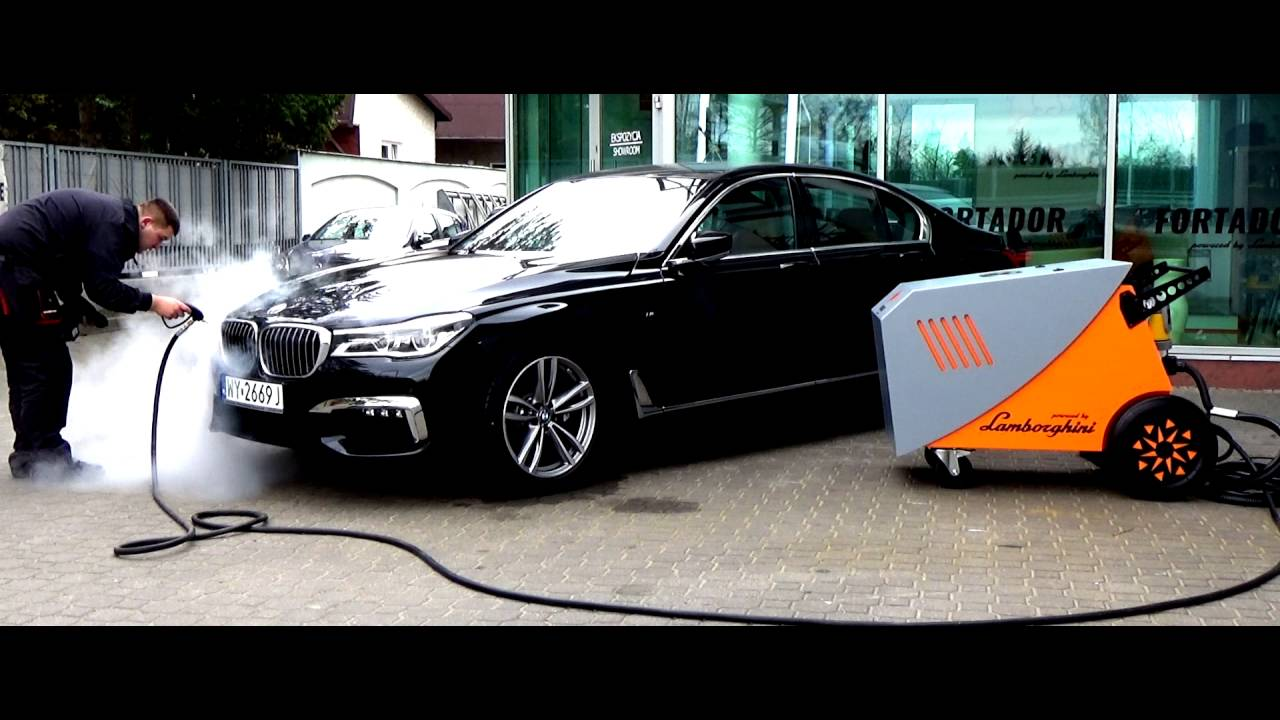 2016 BMW 7 Series Vs Fortador Pro+ Steam Cleaner Powered