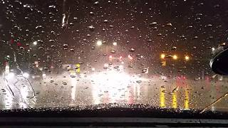 Time-Lapse of My Evening Commute - Raining, Incomplete