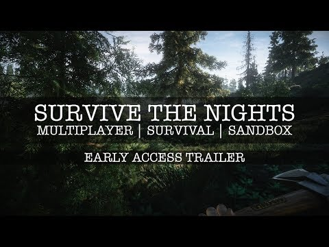 Survive the Nights - Official Alpha Gameplay Trailer