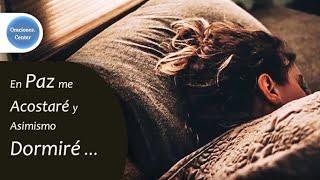 En Paz me Acostaré y Asimismo Dormiré - Versículo y Reflexión