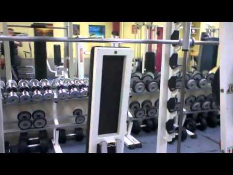 présentation de la salle de musculation de la maison des sports dieppe