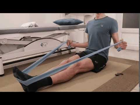 Tirage horizontal avec élastique.