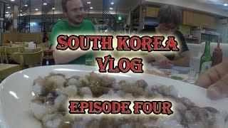 We Eat LIVE Octopus!! - Seoul, South Korea Vlog - Episode Four