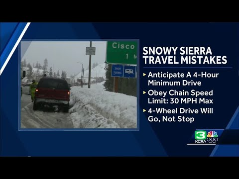 Don't make these common snow storm travel mistakes