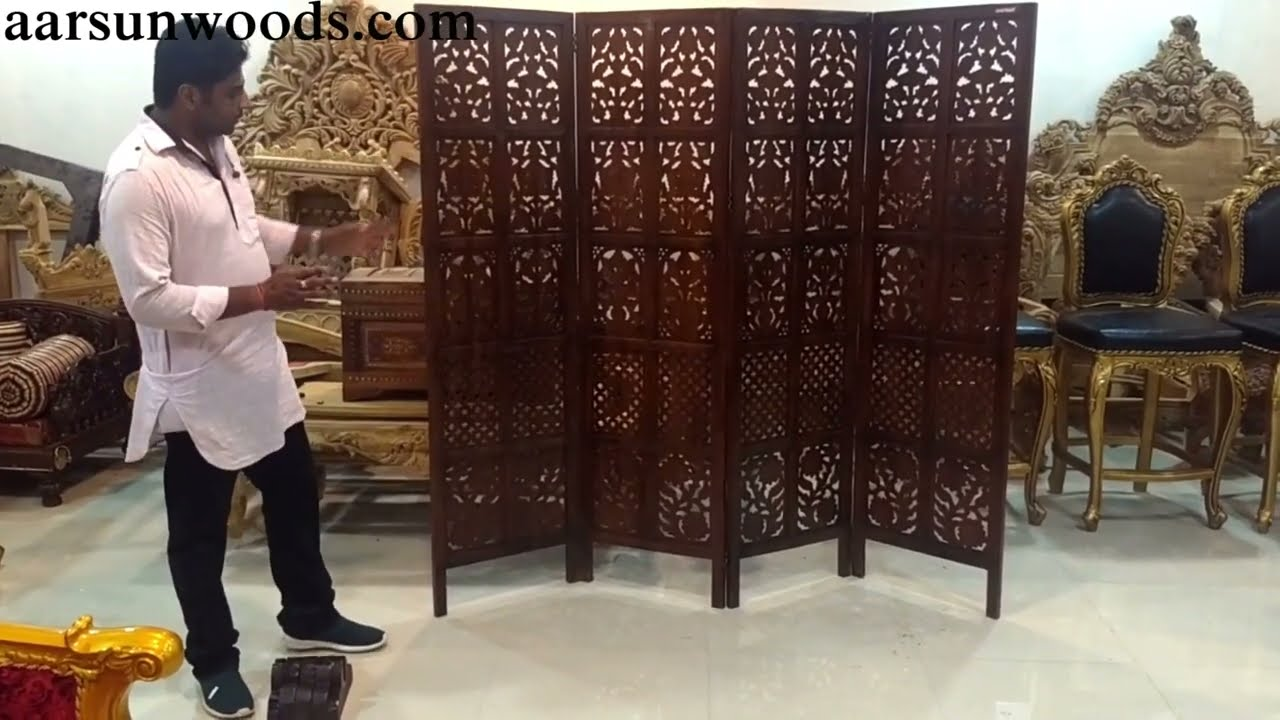 106 Install Room Divider With Stands L Shape Partition Innovative Space Saving Ideas Furniture Youtube