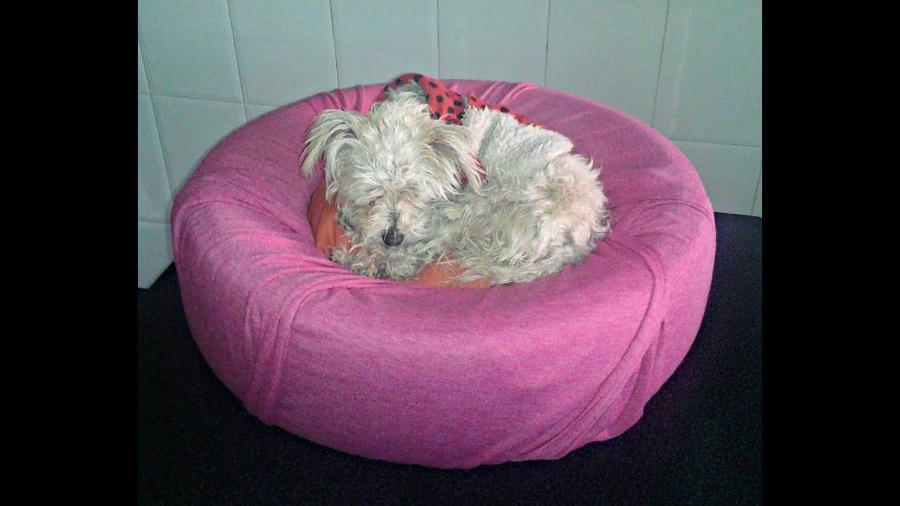 C mo hacer una cama para perros y gatos paso a paso diy - Como hacer una cama para perro ...