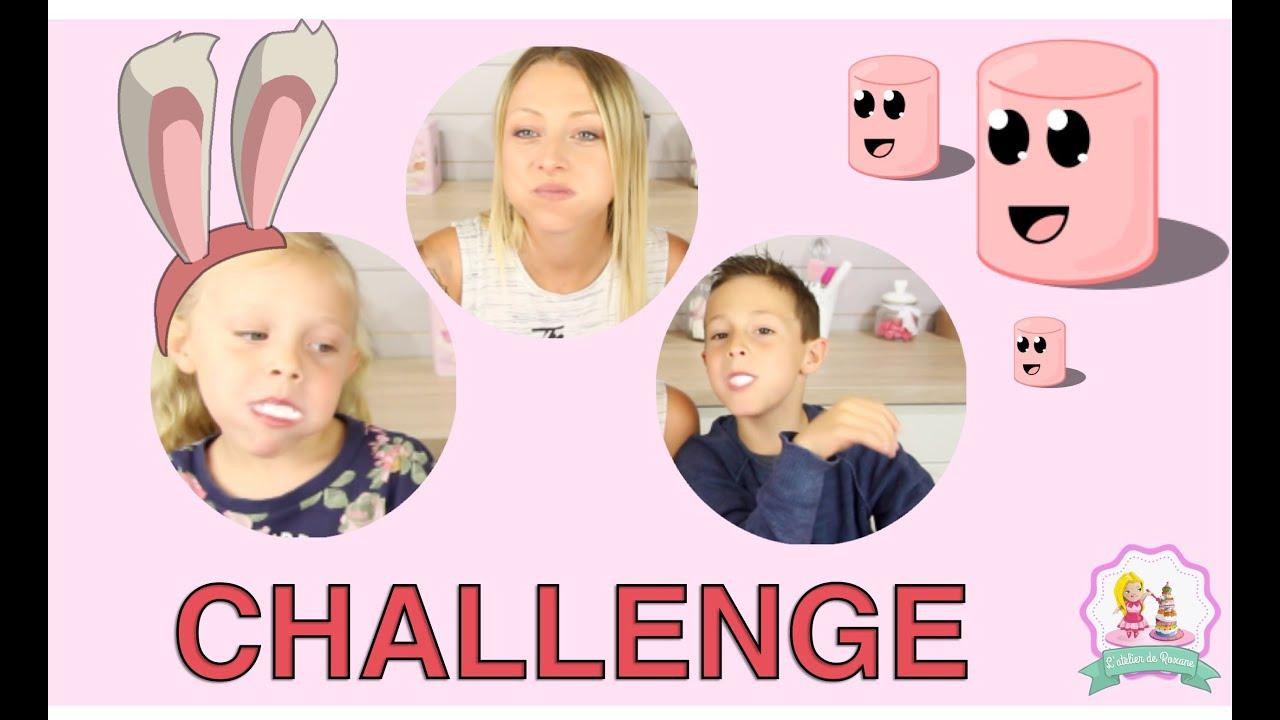 Challenge Chubby Bunny Francais Roxane Mathys Amp Louane