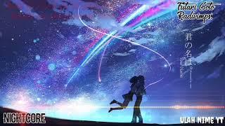 Gambar cover [Nightcore + Lyrics] RADWIMPS - Futari goto Cover By Kobasolo