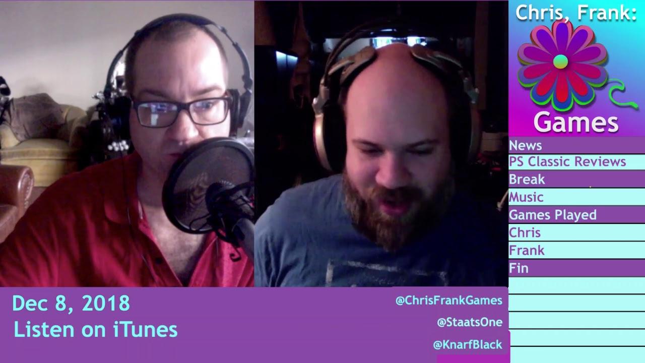 Dec 8: Games of Dec, Red Dead Online, PUBG PS4 | Chris, Frank: Games