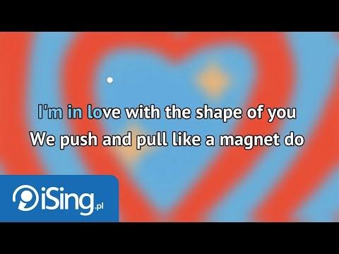 Ed Sheeran - Shape of You (karaoke iSing)
