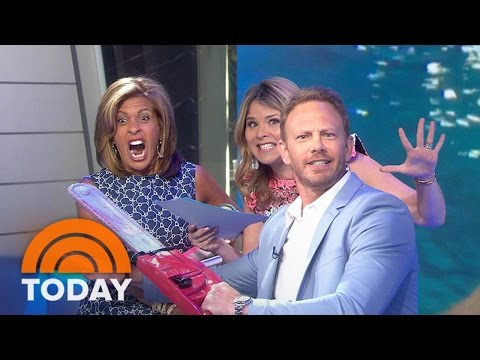 Sharks Beware: Ian Ziering Is Back With His 'Sharknado' Chainsaw  TODAY