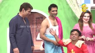 Asif Iqbal and Vicky Kodu Stage Drama Nikka 10 Numbri Full Comedy Clip 2019