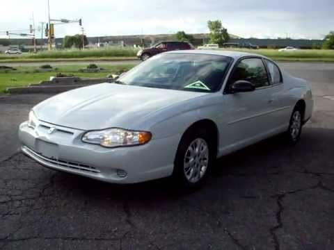 Amazing 2003 Chevrolet Monte Carlo LS, 2 Door, 3.4 V6, Cloth, Pearl White, 103,000  Miles!!!