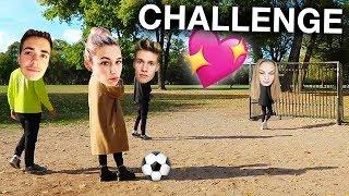 FUSSBALL PÄRCHEN CHALLENGE 💕⚽️ (Max & Jana VS Luca & Jule)