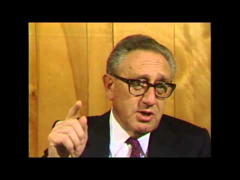 Henry Kissinger interview at Ball State University, 1987