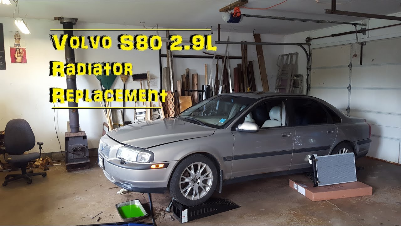 volvo s60 radiator removal