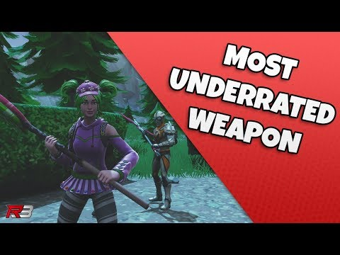 Fornite Season 4 Most Underrated Weapon?