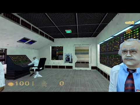 Half Life • HD Remastered Starting Block Gameplay • PS2