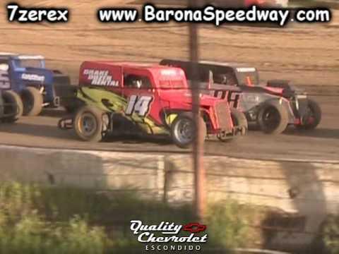 Dwarf Car Heat 2 Barona Speedway 3-25-2017