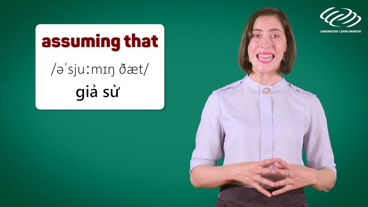 Ngữ pháp tiếng Anh cơ bản - Các TỪ NỐI siêu căn bản muốn giỏi tiếng Anh PHẢI BIẾT [Langmaster]