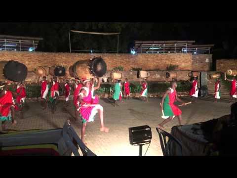 Uganda Dance! Uganda Culture Centre Performing Traditional dance in African Dance Wear